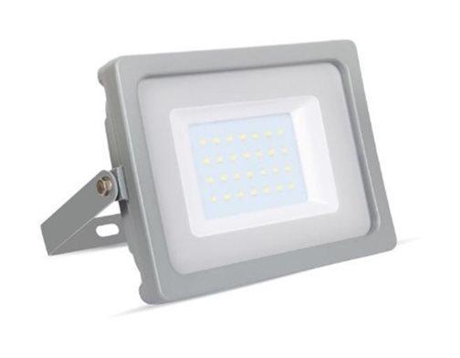 VT-4933 PHARE LED 30W ULTRA MINCE BLANC FROID SMD GRIS SKU-5818 SKU-5818 - V-TAC