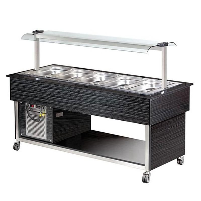BUFFET FROID - 5 X 1/1 GN PROFESSIONNEL