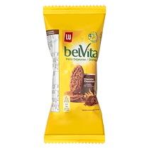 GÂTEAUX BELVITA PETIT DÉJEUNER CHOCOLAT - FORMAT POCKET 50 G - LOT DE 30