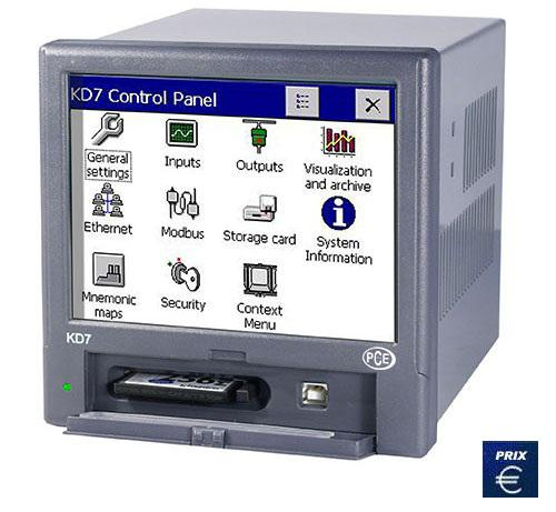 Enregistreur digital pce-kd 7
