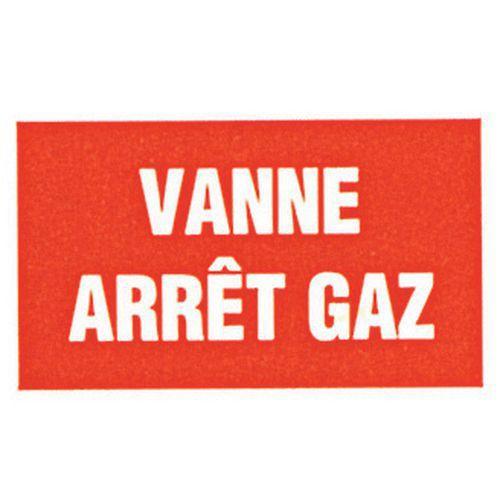 PANNEAU RIG 330X200 MM VANNE ARRET GAZ