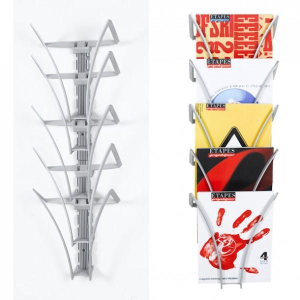 presentoir mural design. Black Bedroom Furniture Sets. Home Design Ideas