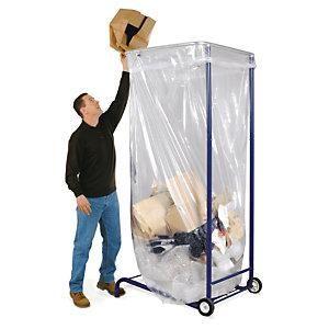 support sac poubelle mobile grand volume comparer les prix de support sac poubelle mobile grand. Black Bedroom Furniture Sets. Home Design Ideas