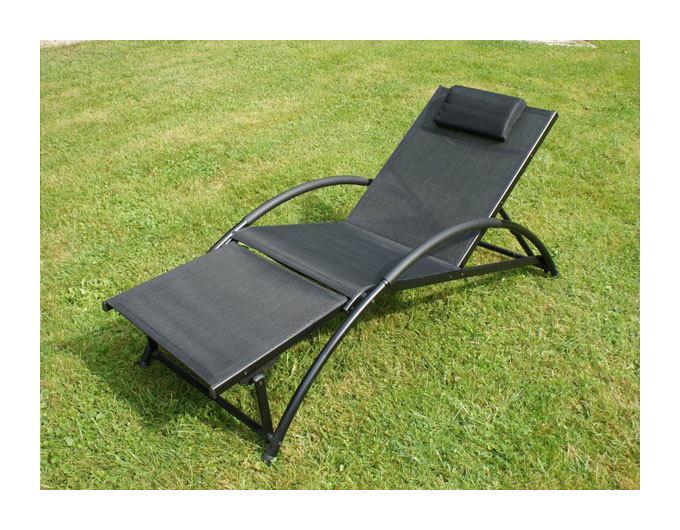 Chaise longue chalet jardin achat vente de chaise for Transat jardin rose