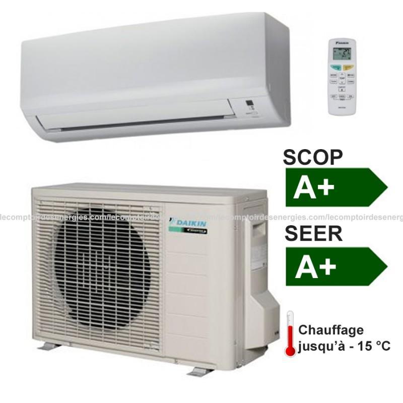 climatiseur monosplit 2 8 kw daikin gamme confort comparer les prix de climatiseur monosplit 2 8. Black Bedroom Furniture Sets. Home Design Ideas