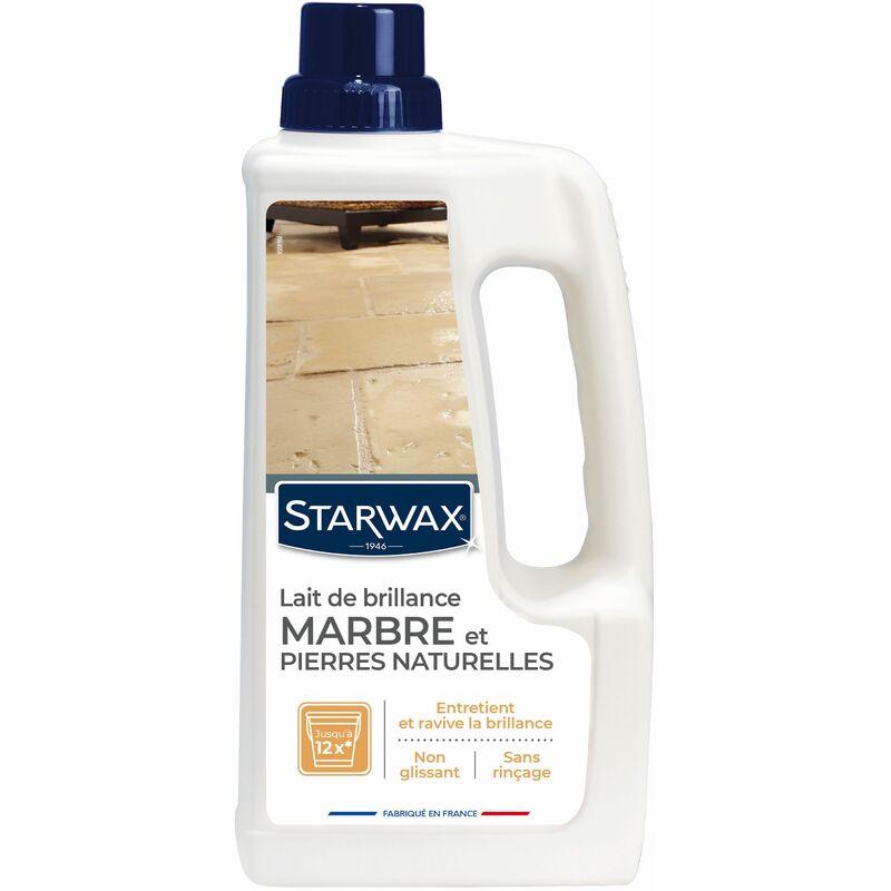 Lait de brillance pour sols marbres et pierres 1l starwax comparer les prix de lait de - Produit pour nettoyer le marbre ...