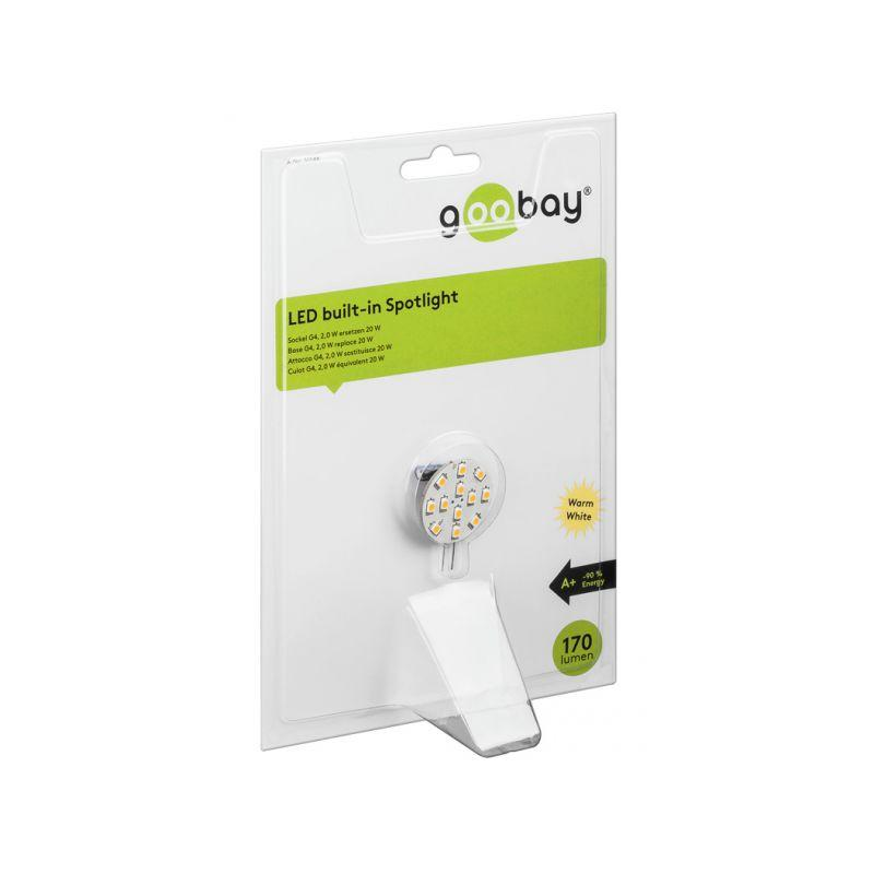 Comparer G4 1w5 Blanc Mm Diamètre 12v Goobay Led Froid 23 Lampe YvI6gbfy7