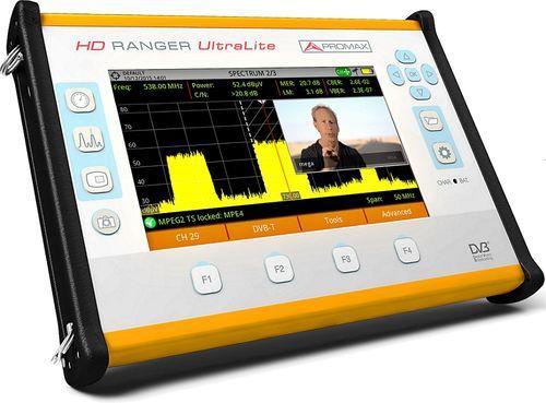 Mesure de champ hd dvb-c/c2, dvb-t/t2, dvb-s/s2, images hd, format tablette