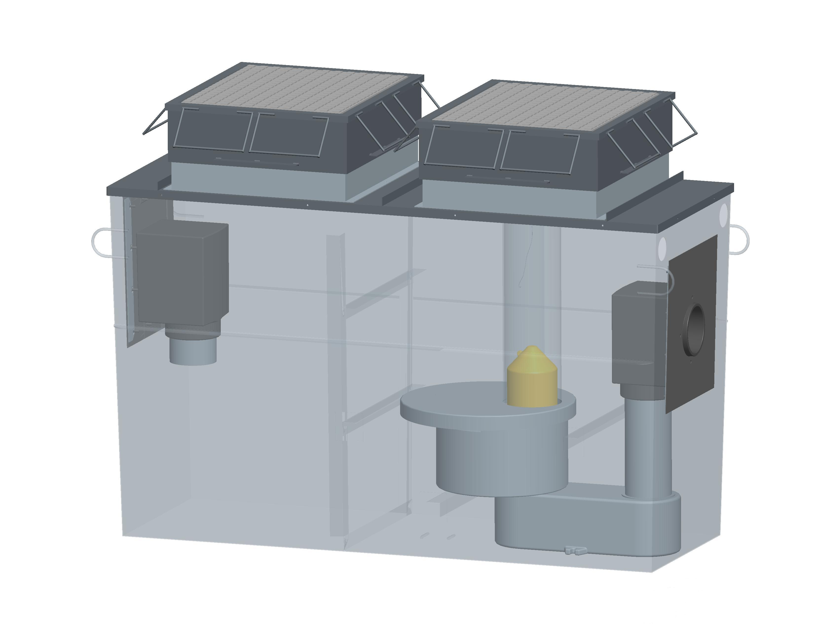 separateur d 39 hydrocarbures avec debourbeur hydromac. Black Bedroom Furniture Sets. Home Design Ideas