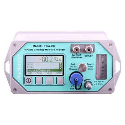 Analyseur portable laboratoire point de rosee humidite gaz for Point de rosee chaudiere bois