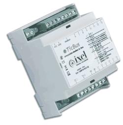 Ticbus - passerelle tic - modbus rtu - rs485