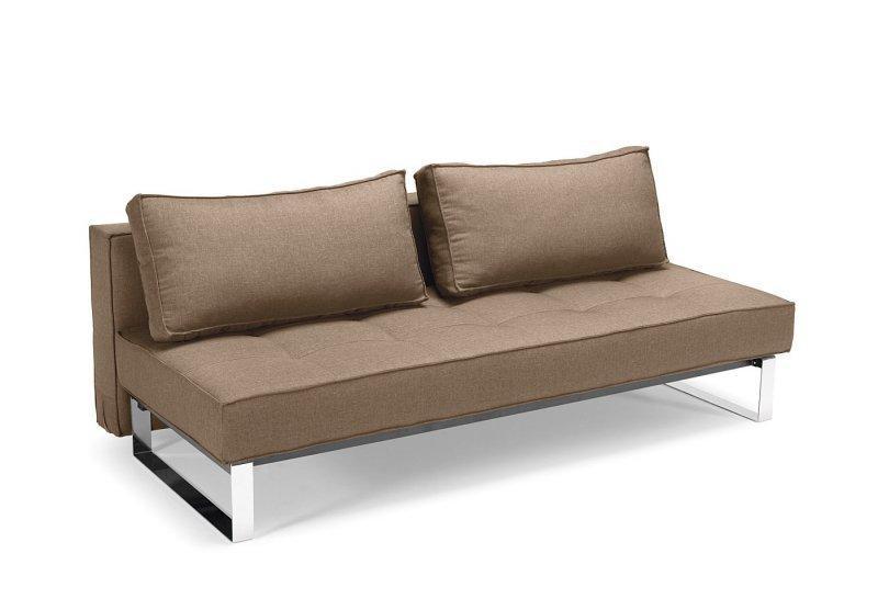 canape lit design supreme deluxe camel convertible 200 140cm. Black Bedroom Furniture Sets. Home Design Ideas