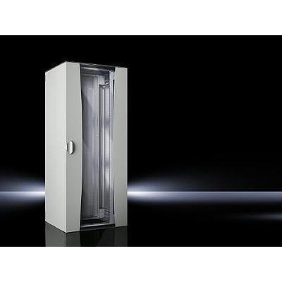 armoire baie de brassage 19 rittal 7000530 2000 mm x 800 x 800 mm 42 u comparer les prix de. Black Bedroom Furniture Sets. Home Design Ideas
