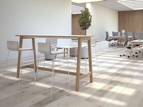 table de conf rence en bois 135 mod les en vente via. Black Bedroom Furniture Sets. Home Design Ideas