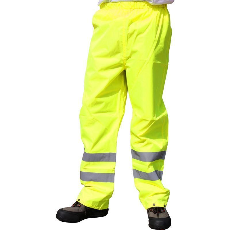 PANTALON DE TRAVAIL HI-VIS PORTWEST TRAFFIC XL JAUNE
