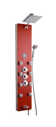 Colonne douche olympia rouge 131 5x28 eco de comparer les prix de colonne d - Colonne de douche rouge ...