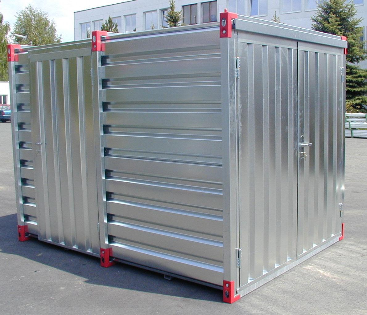 Container standard porte double battants for Container en