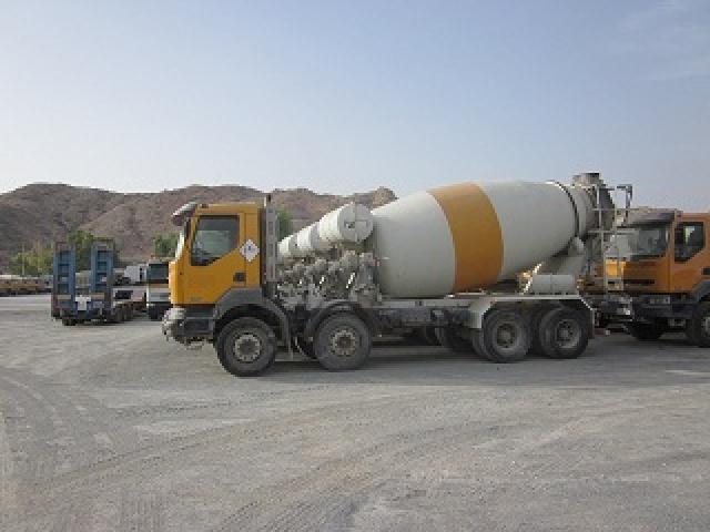 Camion toupie toupie 10m3 / 2004 / qty 5