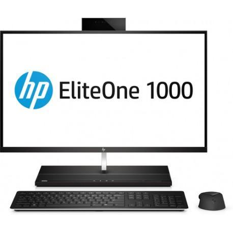 Hp eliteone ordinateur professionnel tout-en-un uhd 4k 1000 g1 27 pouces  référence 2uq63ea#abf