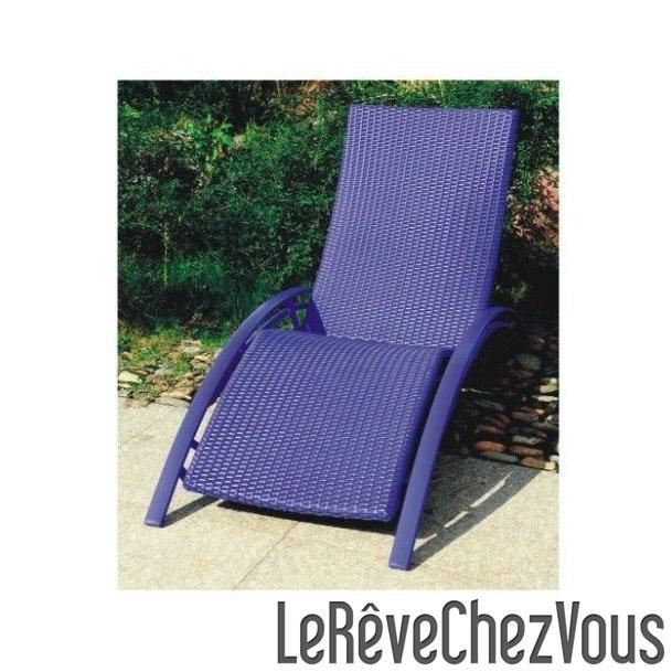Chaise longue tous les fournisseurs de chaise longue for Chaises longues resine tressee