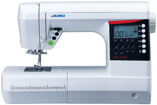 Machine a coudre juki hzl g110 for Irresistible a coudre 4 8 ans