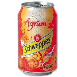 CANETTES SCHWEPPES 330 ML - 24 CANETTES
