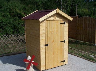 Abris de jardins tous les fournisseurs abri jardin - Abri de jardin en bois avec plancher ...