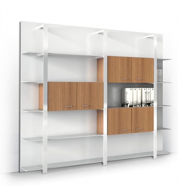 France bureau produits armoires a portes battantes - Transformer une armoire en bureau ...