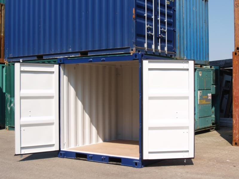 Container 10 39 dry neuf for Cout container maritime