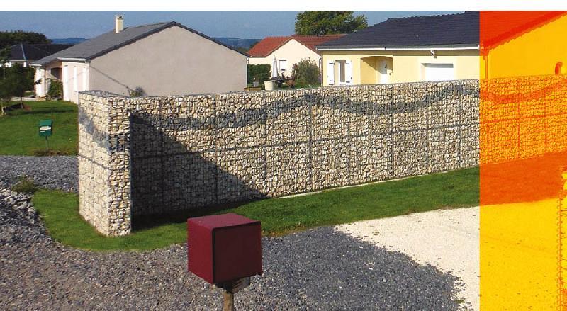 gabions optimized murs de type cloture. Black Bedroom Furniture Sets. Home Design Ideas