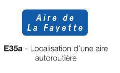Signalisation de localisation e 35a