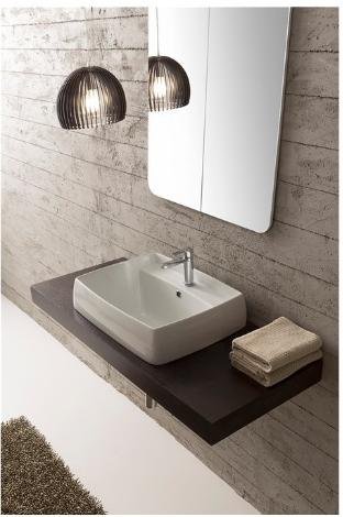 vasque semi encastre arco. Black Bedroom Furniture Sets. Home Design Ideas