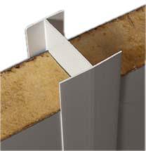 H de jonction en pvc pour raccordement des panneaux for Panneau isolant chambre froide