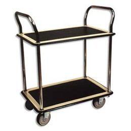chariot double plateau courroie de transport. Black Bedroom Furniture Sets. Home Design Ideas