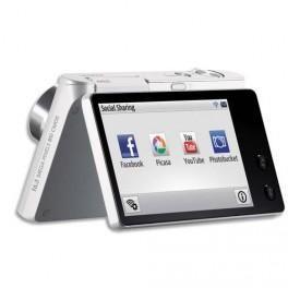 Samsung appareil photo num rique avec cran rotatif blanc for Appareil photo ecran 180