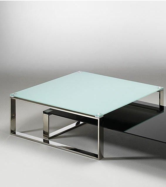 Table en verre carree maison design for Table salle a manger carree design en verre
