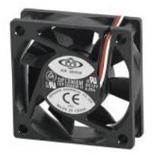 Ventilateur de remplacement 12 volts 3 fils 60x60x20mm - Ventilateur de plafond 12 volts ...