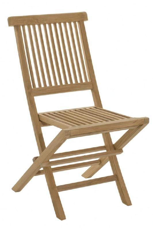 Chaise de jardin java en teck