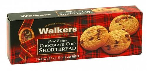 Paquet de shortbread walkers aux pépites de.