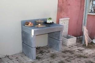 Plans de travail de cuisine tous les fournisseurs - Fabriquer un plan de travail en beton ...