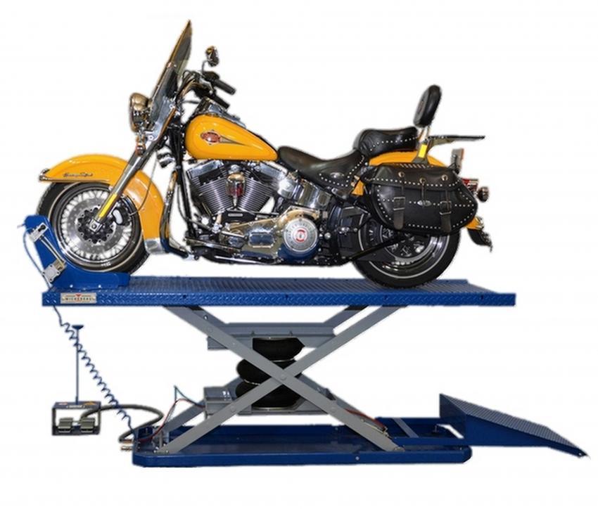 Pont elevateur pour moto 500 m - Table electrique osteopathie occasion ...
