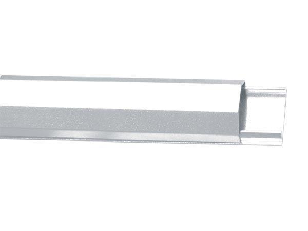 goulotte passe c bles aluminium 33mm x 1100mm blanc. Black Bedroom Furniture Sets. Home Design Ideas