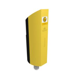 Acw/868/mr2-ex - modem ip65- rail din- antenne intég - pile fournie.