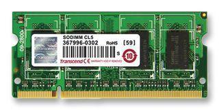 BARRETTES MÉMOIRES INFORMATIQUES TRANSCEND TS256MSQ64V8U GB SODIMM DDR2 800MHZ