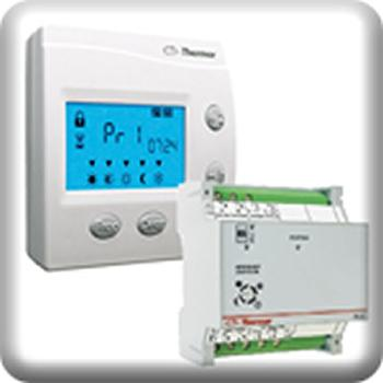 Commandes et gestions de chauffage thermor achat vente de commandes et gestions de chauffage for Programmateur chauffage electrique fil pilote zones
