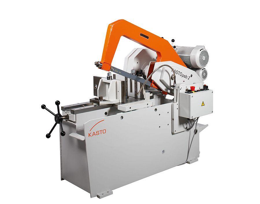 Psb2 - scie industrielle - kasto - six vitesses de coupe