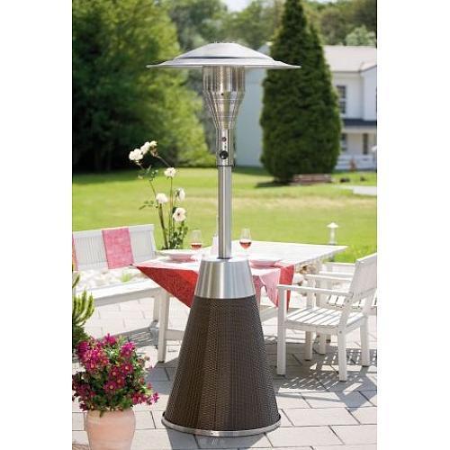 Chauffage de terrasse gaz comparez les prix pour for Parasol chauffant de table