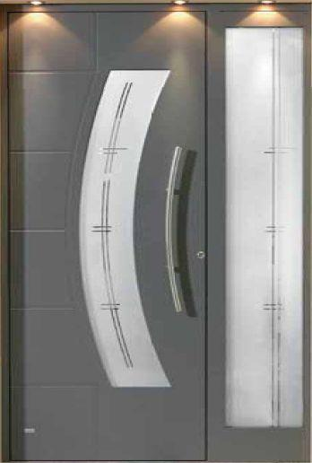 Portes d 39 entre en aluminium - Porte entree aluminium ...