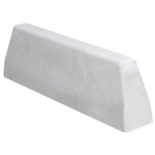 BORDURE BÉTON 100 X 18 X 30 CM - BLANC LISSE