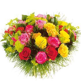 Les couleurs de l'amitié !  dans Penserie bouquet-de-rose-comores-multicolore-255360